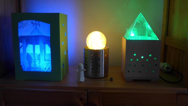 lichteffekte tests und tipps f r die perfekte lichtshow. Black Bedroom Furniture Sets. Home Design Ideas