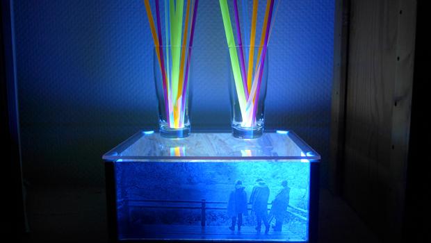 Selbstbau Diorama mit Schwarzlicht